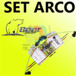 Set arco Compound Bear Archery Scout - SPEDIZIONE GRATUITA-