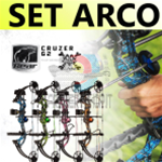 Set Arco Compound Bear Archeryr Cruzer G2 - SPEDIZIONE GRATUITA-