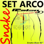 "Set arco Rolan SnaKe 60"" Entry Level  - SPEDIZIONE GRATUITA-"