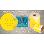 Adesivi JVD Sticker 80 mm per Fita 40 (100pz)